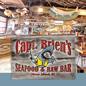 Capt. Brien's Seafood Raw Bar Restaurant, Off the Hook Comedy Club