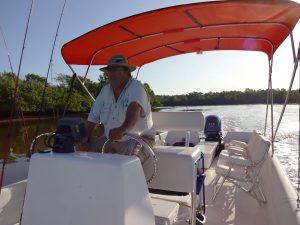 Experienced Captain Phil DeVille explores the Florida Everglades.