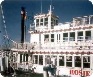 Rosie O'Shea was side-wheel paddle boat that cruised Marco Island for more than a decade.