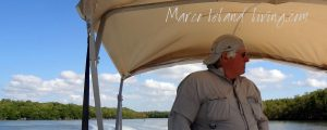Captain Mike provided insightful stories and history of the Everglades.