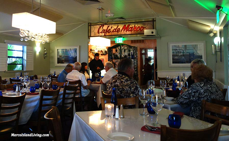 Cafe de Marco Seafood Restaurant Olde Marco FL | Marco Island Living