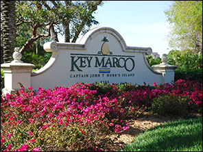 Entrance to Key Marco - Horr's Island