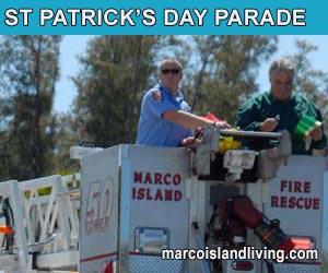 St Patricks Day Parade Marco Island Florida